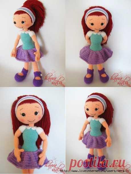 Кукла Алисия.