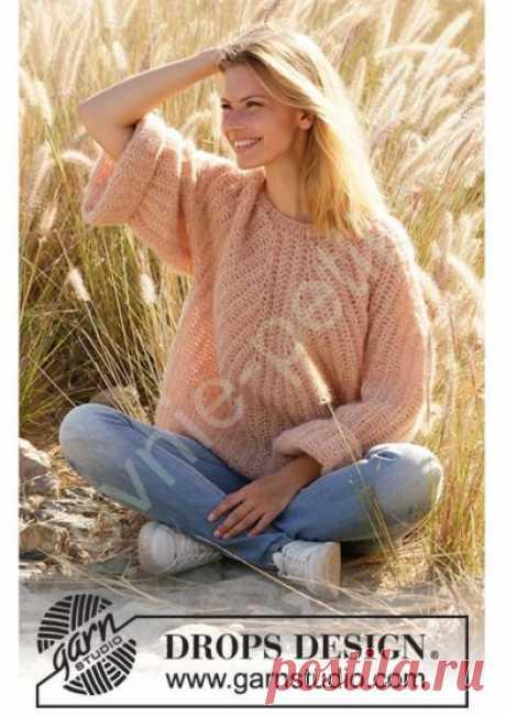Пуловер Cheers to Life от DROPS Design