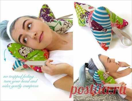 Подушка-валик под шею