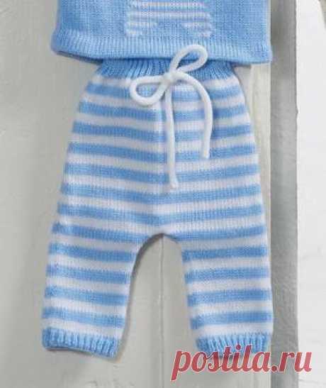 Связать своими руками штанишки спицами для новорождённых и малышей 1 года Штанишки для новорождённого; как выбрать качественные нитки, как связать; комбинезон на мальчика 1 года, подробная инструкция вязания.