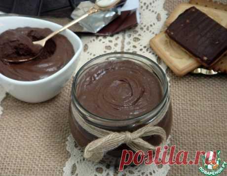 Десертная паста на основе шоколада – кулинарный рецепт
