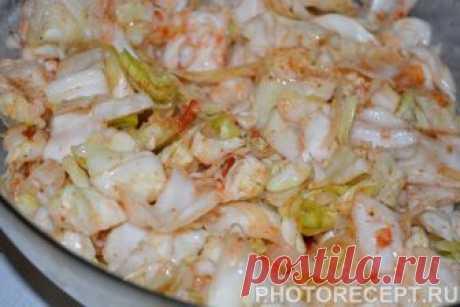 Капуста по-корейски - рецепт с фото пошагово Капуста по-корейски - пошаговый кулинарный рецепт приготовления с фото, шаг за шагом.
