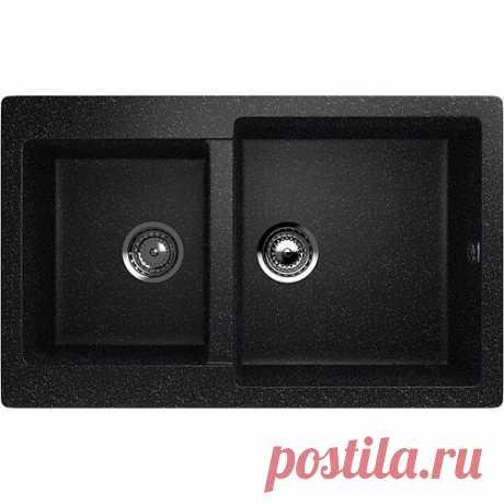 Мойка Ulgran U-505 - 308, чёрная – купить по лучшим ценам в интернет магазине Сантехлюкс