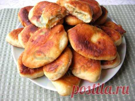 Жареные пирожки с картофельной начинкой | Рецепты на SuperKuhen.ru