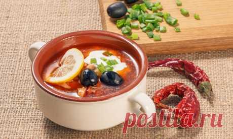 Солянка: самые вкусные рецепты от Шефмаркет