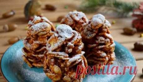«Елочные шишки» — Оригинальный и вкусный десерт на Новый год — Фактор Вкуса
