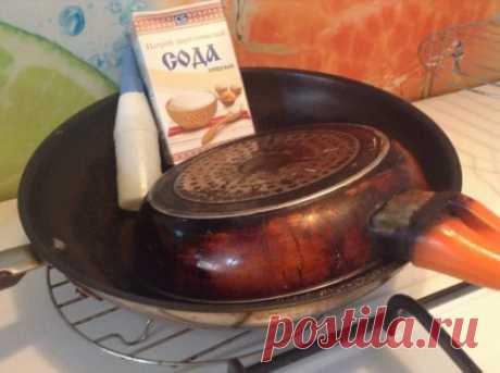 Как очистить сковородку от нагара и жира за 5 минут