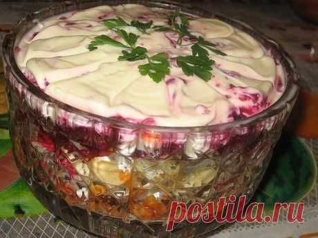 "Салат ""Лакомка"" | Житейские Советы"