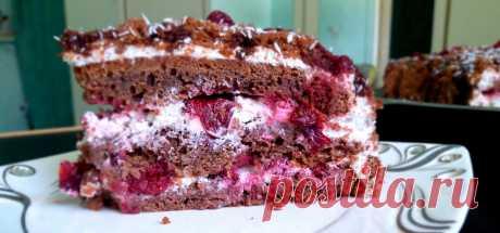 Вкусно и просто. Торт «Черный принц» Порадуйте своих родных вкусным угощением. Оригинальное и красивое лакомство войдет в копилку праздничных рецептов или десертов к ежедневному чаепитию.