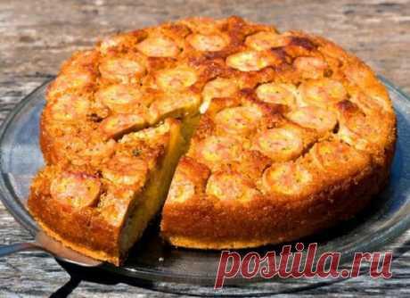 Диетолог посоветовала испечь банановый пирог без муки: это мой любимый десерт