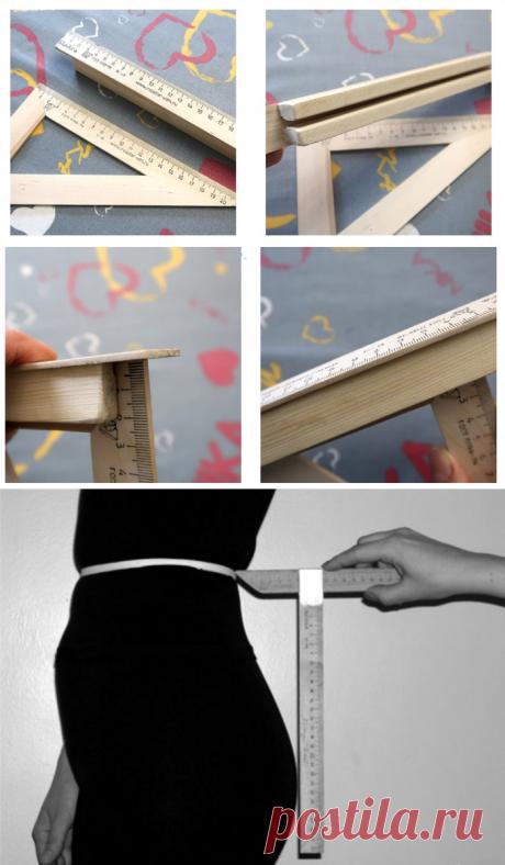 Вытачки на талии, как измерить?
