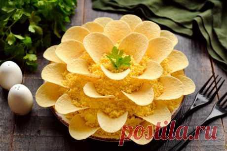 Салат Хризантема на Новый год 2022 – первым сметут со стола Бесподобно вкусный салат Хризантема на праздничный Новогодний стол, который гости первым сметут со стола.