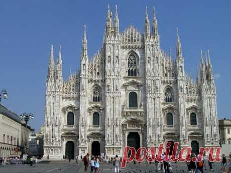 Собор Дуомо Милан (Италия)