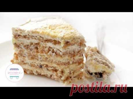 ПРОСТОЙ РЕЦЕПТ КИЕВСКОГО ТОРТА/ торт безе с орехами