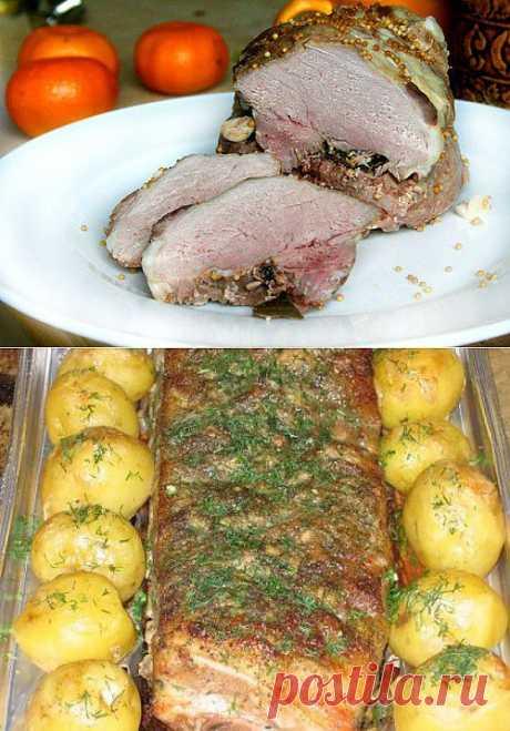 7 рецептов буженины из свинины и говядины.