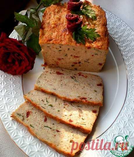 Мясная запеканка с сыром сулугуни и вялеными помидорами - кулинарный рецепт