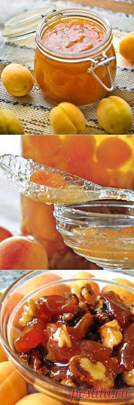 Абрикосовое варенье - солнце в банке, ложка лучиков и тепла (4 рецепта).