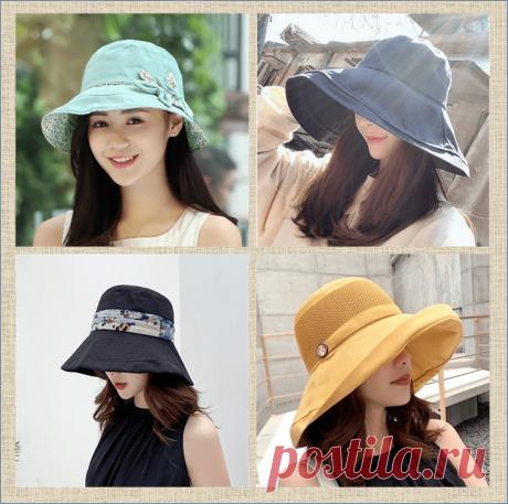 Шляпы, панамы, кепки и беретики - подборка выкроек