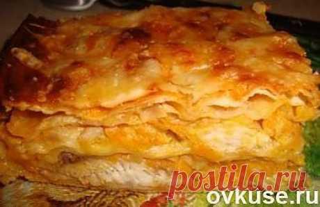 Лазанья из лаваша (с рыбой) - Простые рецепты Овкусе.ру