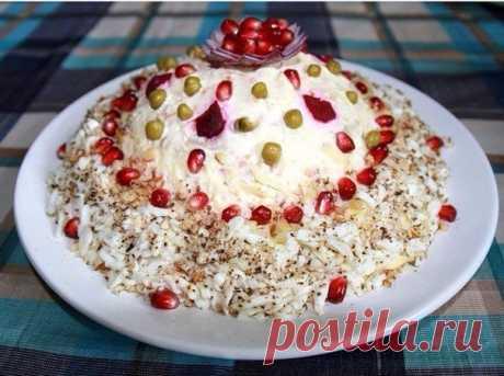 Ещё ТОП-7 салатов на Новый Год | Вкусные рецепты