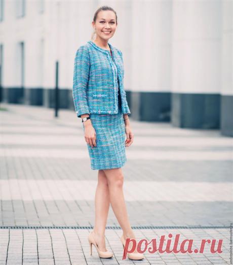 Твидовый костюм — классика для женщин 45+ | Краше Всех