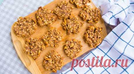 Рецепт полезного овсяного печенья - Великий повар - пошаговые фоторецепты