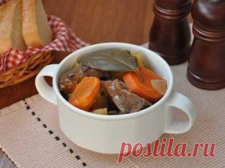 Жаркое из говядины - простой и вкусный рецепт с пошаговыми фото