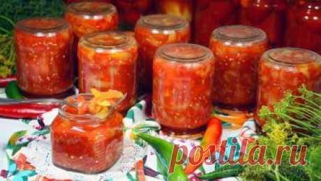 Лечо на зиму - Самый простой и вкусный рецепт Сегодня хочу поделиться самым простым рецептом приготовления Лечо на зиму. В этом рецепте всего два основных ингредиента – это сладкий болгарский перец и помидоры. Но при всей своей простоте и легкост...