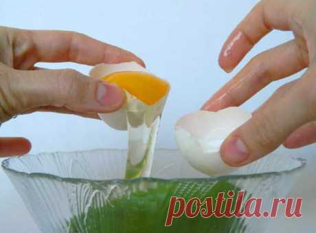 Маска для лица из яичного белка, позволяющая разгладить морщины - Место силы 2.0