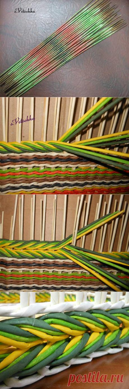 Тема: Мастерская Веточки (106/338) - Плетение из газет и другие рукоделия - Плетение из газет