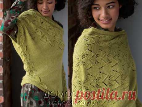 Асимметричный пуловер | ДОМОСЕДКА