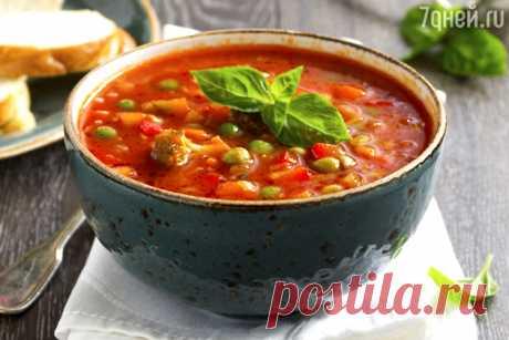 Суп минестроне: рецепт от шеф-повара Мишеля Ломбарди - 7Дней.ру