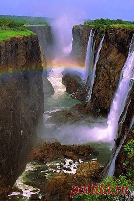Victoria Falls, Zamb nature love - waterfallslove Victoria Falls, Zamb nature love