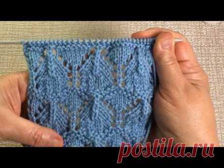 Узор для летнего топика / Вязание спицами / Knit Pattern for Summer Top/Long coat