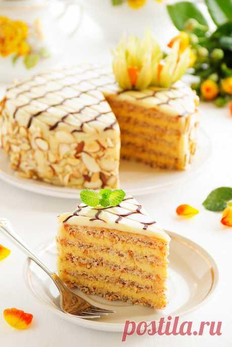 """Торт """"Эстерхазе"""". - Люблю готовить."""