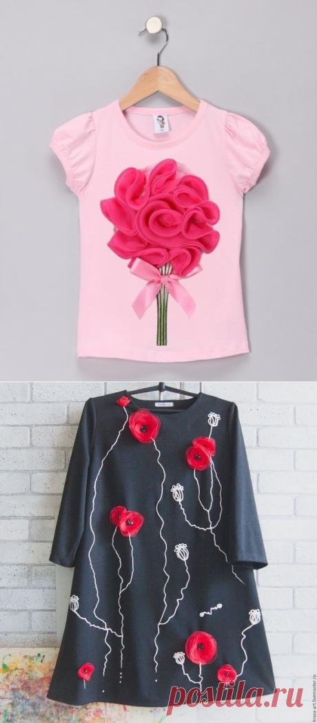 Аппликация на одежде: идеи — Сделай сам, идеи для творчества - DIY Ideas