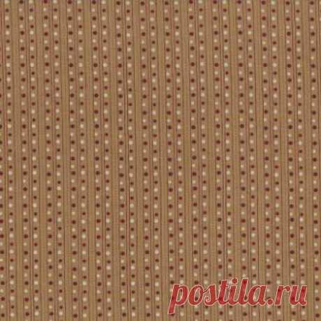 Красные и белые точки на бежевом фоне 1931-004 - Сад квилтера <- RJR <- Ткани - Каталог | StitchCraft