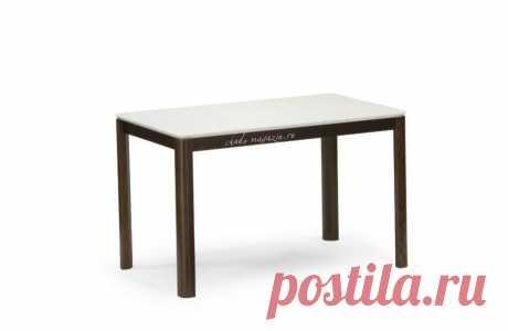 Современный стол на кухню раздвижной из массива дерева Сэм-6 М. В интернет-магазине Chudo-magazin.ru в Москве.