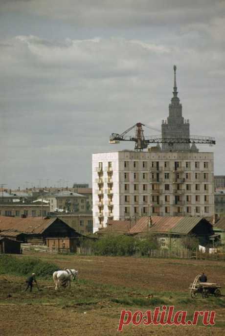 Москва 1960-х годов. Фотограф Дин Конгер
