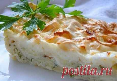Быстрый пирог на завтрак - лаваш, кефир и яйца | Эффект попутчика | Яндекс Дзен