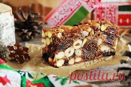 Рецепт фруктово-орехового кекса | Меню недели