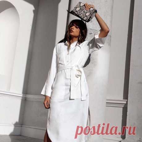 «Мода не просто делает женщин красивыми, она дает им уверенность в себе», - Ив Сен-Лоран #HMMood