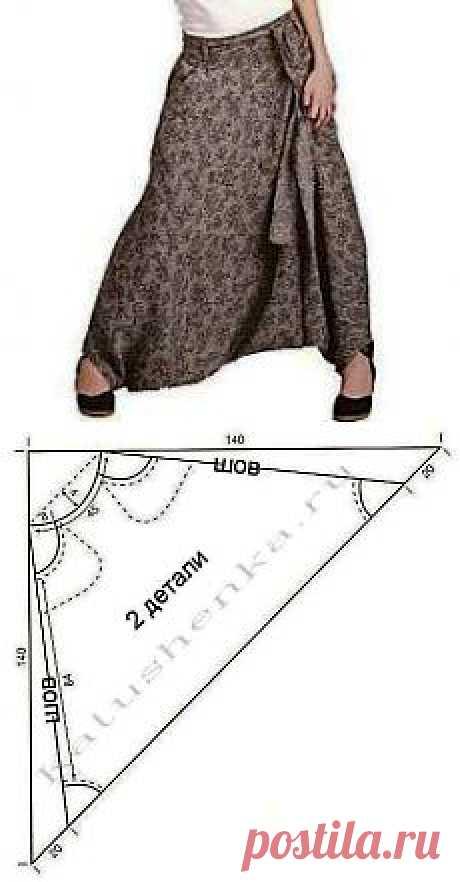Выкройка афгани и штаны-алладины – два в одном! | Катюшенька Ру - мир шитья
