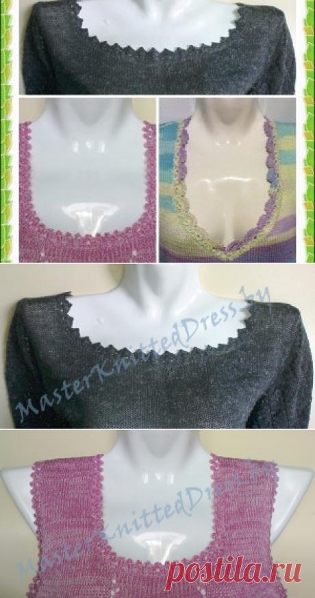 Tres modos simples de vincular el escote impresionante sobre la blusa veraniega