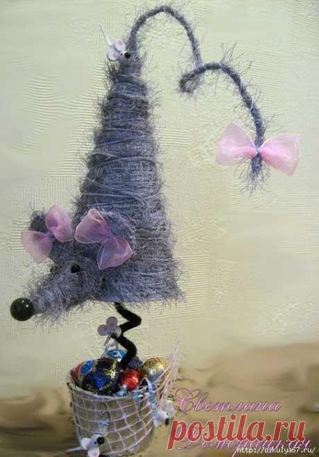 Необычные елочки и новогодний декор. Идеи для творчества.