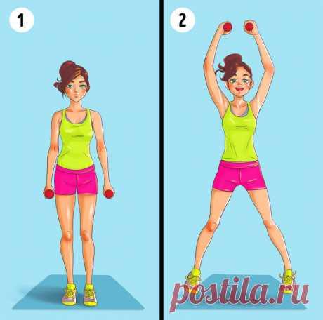 6упражнений, которые помогут вам забыть ожировых складках наспине ибоках