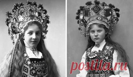 Фотографии из собрания Норвежского фольклорного музея в Осло, сделанные в период 1870-1920-х годов.