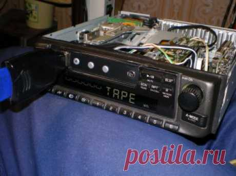 Переделка кассетной аудиомагнитоллы