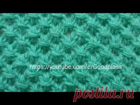 Pattern Bulgarian cross spokes. Knitting(Hobby).