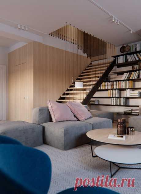 Интерьер уютного коттеджа — Lodgers - Дизайн интерьера